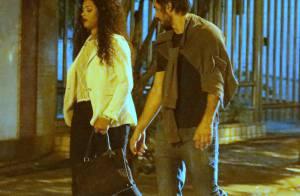Juliana Alves é flagrada entrando no carro do ex-marido, Guilherme Duarte