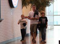 Angélica e Luciano Huck vão ao cinema com os filhos em shopping no Rio