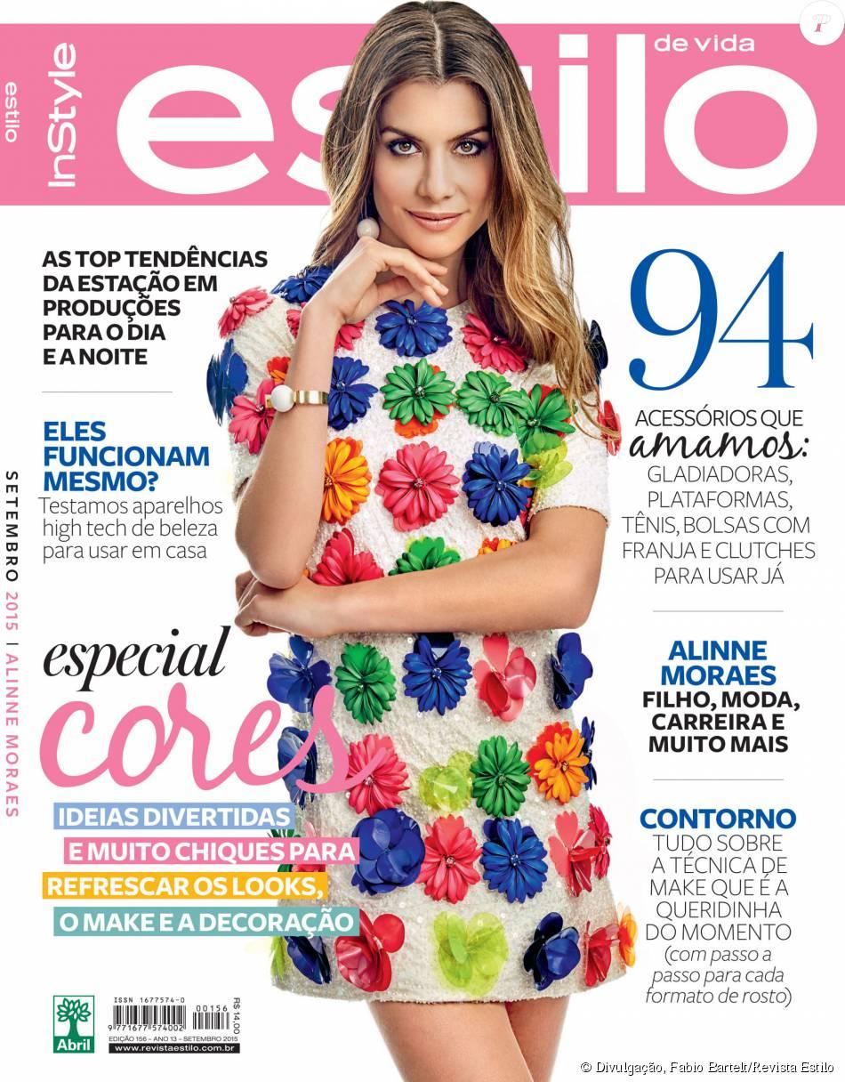 Aline Moraes Toda Nua alinne moraes é a capa da revista 'estilo' de setembro
