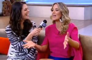 Ticiane Pinheiro lembra beijo técnico em teste para a TV: 'Não parava de beijar'