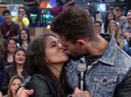 Lucas Lucco beija fã no 'Altas Horas': 'No meu caso, beijo técnico não existe'