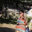 Juliana Paes foi flagrada em momento de passeio em Búzios, região dos Lagos do Rio de Janeiro