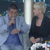 Zeca Pagodinho reclama de horário do programa da Xuxa: 'Doido para ir embora'