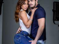 Luan Santana e Sabrina Sato posam para campanha em clima de romance