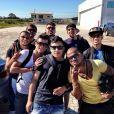 Neymar saiu de Santa Catarina e veio direto para o Rio de Janeiro, em 18 de julho de 2013