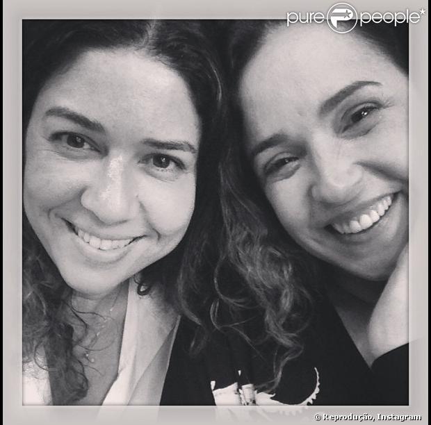 A assessoria de Daniela Mercury negou nesta segunda-feira, 22 de julho de 2013, a separação entre ela e a jornalista Malu Verçosa