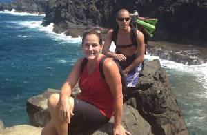 Renata Ceribelli viaja para Fernando de Noronha e curte férias da TV Globo