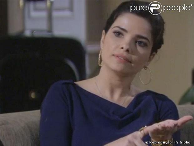 'Amor à Vida': a secretária Aline deixou a máscara cair e afirmou à Mariah que César está em suas mãos