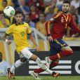Neymar também defende a Seleção Brasileira de Futebol