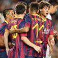 Messi e Neymar já jogaram duas partidas juntos: contra o Lechia Gdansk e o Santos