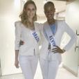 Isis Stocco fez amizade com a miss Quênia, que ficou em terceiro lugar no Miss Beleza Internacional