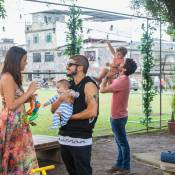 'I Love Paraisópolis': Mari, Ben, Grego e Margot selam a paz em família. Fotos!
