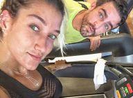 Gabriela Pugliesi exibe físico sequinho em dia de malhação ao lado do namorado