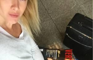 Fiorella Mattheis rebate críticas de internautas após postar foto: 'Tenho saúde'