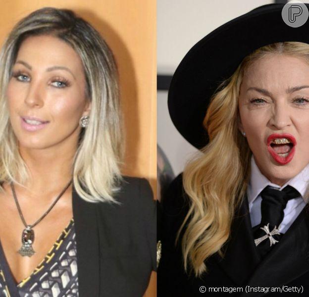Valesca Popozuda comemorou por ter sua música tocada na abertura do show de Madonna em praga. 'Eu não sabia que minhas músicas tocavam dessa forma lá fora', comentou a artista nesta segunda, 9 de novembro de 2015
