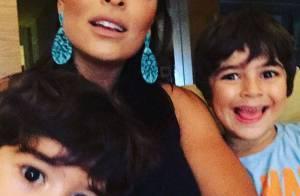 Marina Ruy Barbosa ganha elogio de Antonio, filho de Juliana Paes: 'Bonita'