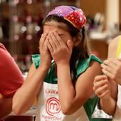 Laura é eliminada do 'MasterChef Júnior' e não se conforma: 'Estava bom!'