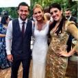 Fred Guedes, jogador do Fluminense, se casa com a publicitária Paula Armani no Espaço Província, em  Nova Lima, Região Metropolitana de Belo Horizonte