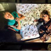 Miguel Falabella posta foto orando em cena com Marília Pêra:'Não desista de nós'
