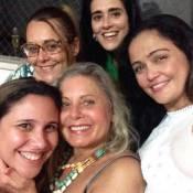 Vera Fischer aparece maquiada em selfie com amigas após ser alvo de críticas