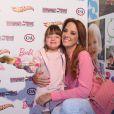 Ticiane Pinheiro é mãe de Rafaella Justus, de 4 anos. Ela mantém uma boa relação com Roberto Justus para preservar a menina