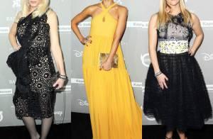 Gwen Stefani e Jessica Alba brilham em evento nos EUA. Veja o look das famosas!