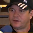 Chimbinha deu entrevista exclusiva ao 'TV Fama' logo após assinar o divórcio de Joelma