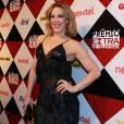 Claudia Raia exibiu boa forma em vestido com franjas Patricia Mota