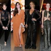 Famosas usam looks decotados e transparências no Prêmio Extra de TV 2015. Fotos!