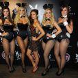 Nanda Costa posa com as coelhinhas da 'Playboy' em festa da revista