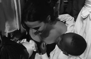 Bruna Marquezine emociona fãs ao mostrar evento com crianças refugiadas: 'Amor'
