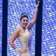 Patricia Nery, da Portela, na vinheta de Carnaval da TV Globo