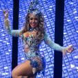 Raíssa de Oliveira, da Beija-Flor, na vinheta de Carnaval da TV Globo