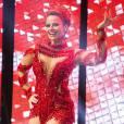 Vivi Araújo, rainha do Salgueiro, também foi com o mesmo look de 2015 para a vinheta de Carnaval da TV Globo