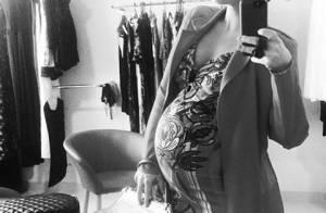 Grávida de 8 meses de Alexandre Nero, Karen Brusttolin diz: 'Difícil achar look'