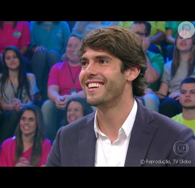 Kaká afirma, no 'Domingõ do Faustão', que esta solteiro, em 22 de novembro de 2015