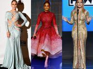 Jennifer Lopez usa 10 vestidos no American Music Awards. Veja looks das famosas!