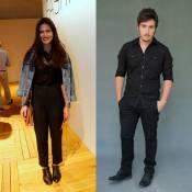 Antonia Morais e Wagner Santisteban, ator de 'Além do Tempo', estão namorando
