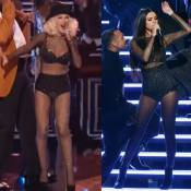 Selena Gomez canta no AMA com look usado por Christina Aguilera no 'The Voice'