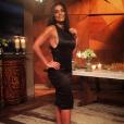 Em uma das provas do concurso Totalmente Demais, Carolina Castilho (Juliana Paes) veste elegante modelo exclusivo Cholet e sandálias Alexandre Birman, da coleção de Outono 2014 e já usada por Gwyneth Paltrow, no valor de R$ 1.395