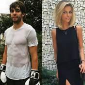 Kaká está no Brasil para oficializar separação e se encontra com nova namorada