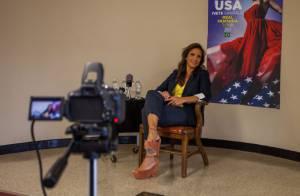 Ivete Sangalo realiza coletiva de imprensa antes de seu quarto show nos EUA