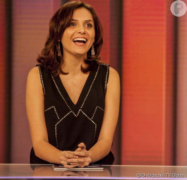 Monica Iozzi vai deixar a bancada do 'Vídeo Show' para voltar a atuar e a data mais provável é 29 de janeiro de 2016, segundo o colunista Flavio Ricco