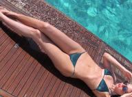 Luciana Gimenez posta foto de biquíni e recebe crítica por corpo magro: 'Palito'