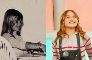 Xuxa posta foto da infância no Instagram e impressiona fãs: 'Sasha dos anos 80'