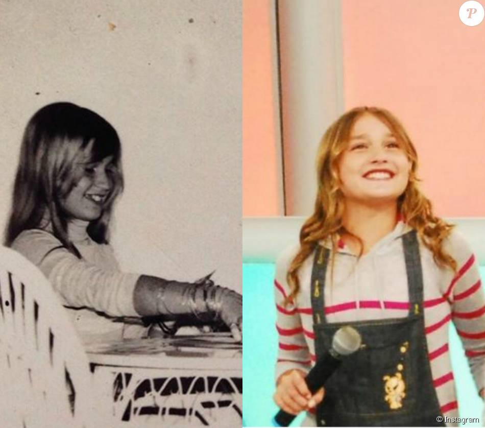 Xuxa Meneghel relembra infância em foto postada no seu Instagram nesta segunda-feira, 30 de novembro de 2015 e fãs a comparam com Sasha