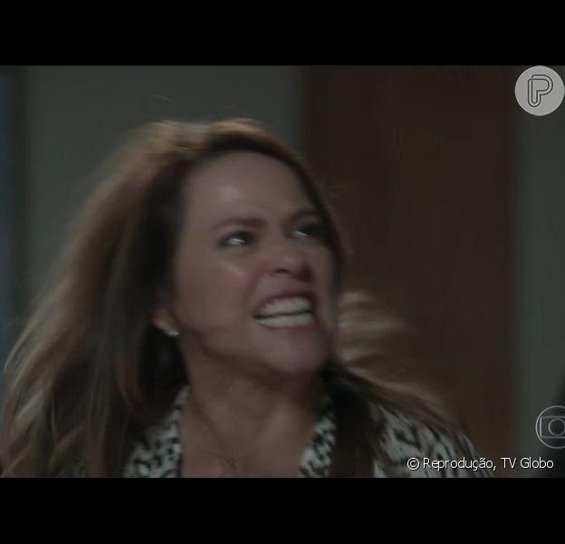 Vivianne Pasmanter roubou a cena na novela 'Totalmente Demais', durante discussão com personagem de Humberto Martins. 'Que briga! Ótima atriz', elogiaram internautas nesta terça, 1° de dezembro de 2015