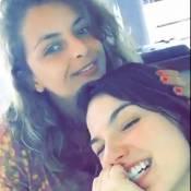 Isis Valverde volta ao Brasil após período em NY. 'Voltou pra mim', vibra prima