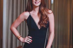 Marina Ruy Barbosa usa macacão com superdecote em festa. Veja detalhes do look!