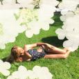 Beyoncé exibe suas curvas vestindo maiô